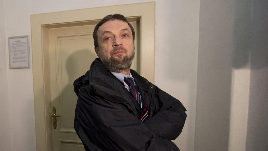 Bývalý předseda pražské muslimské obce Vladimír Sáňka.