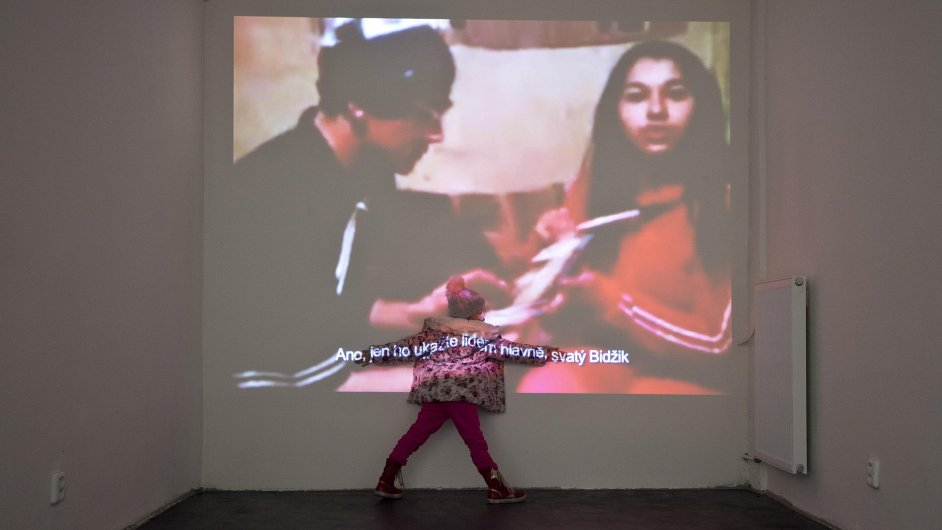 Snímek z výstavy Džas bare dromeha