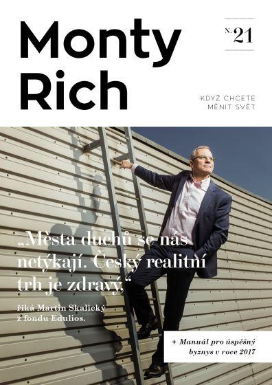 Obálka magazínu MontyRich