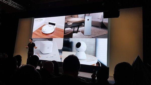 Prezentace Xiaomi na CES v Las Vegas.