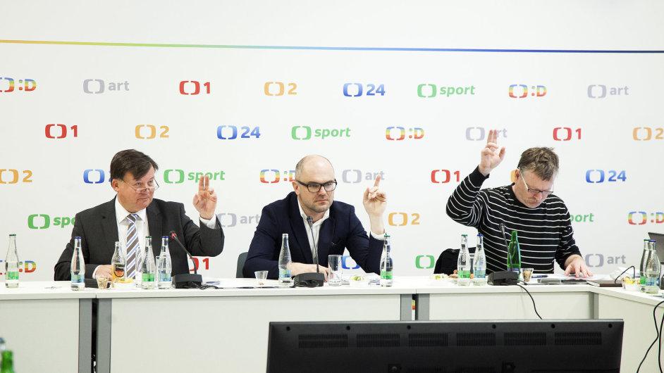Zasedání Rady České televize 15. 2. 2017