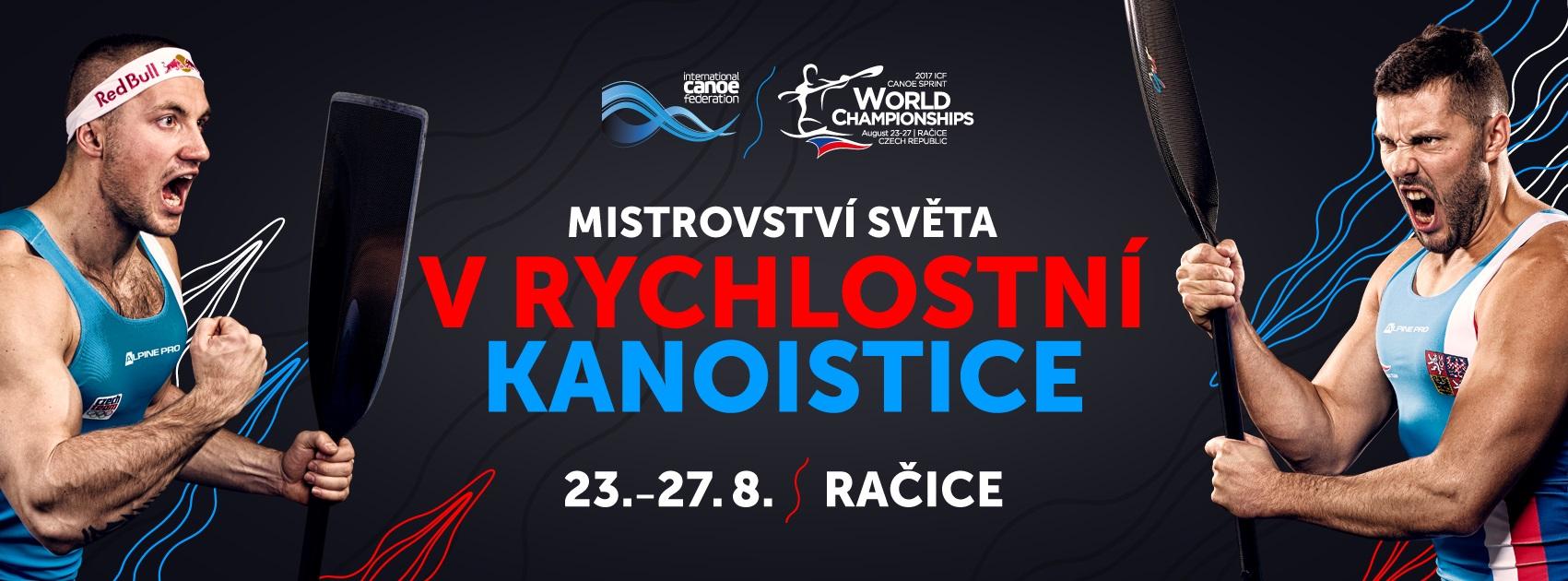 Vizuál mistrovství světa v rychlostní kanoistice 2017