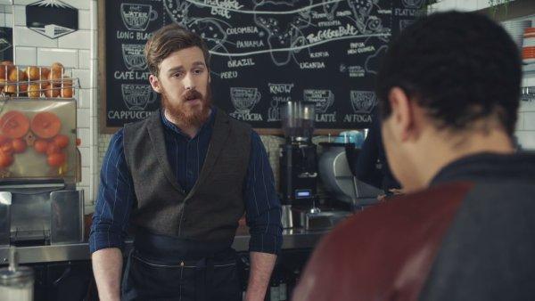 Reklama na McCafé, únor 2017