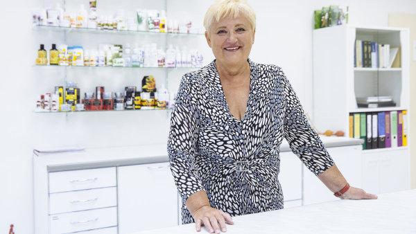 Zakladatelka kosmetické firmy Ryor Eva Štěpánková.
