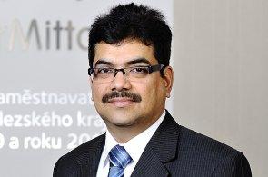 Ashok Patil, generální ředitel ArcelorMittal Ostrava