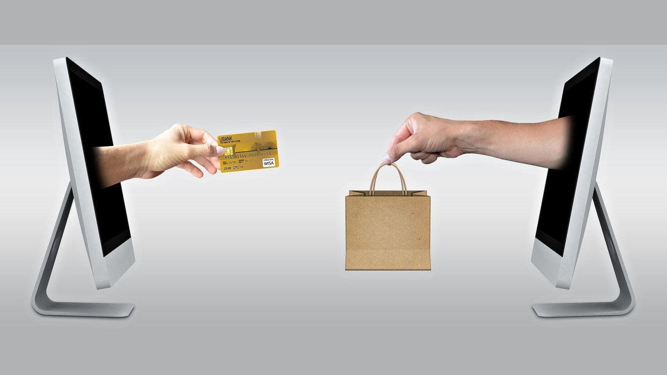 E-commerce, ilustrace