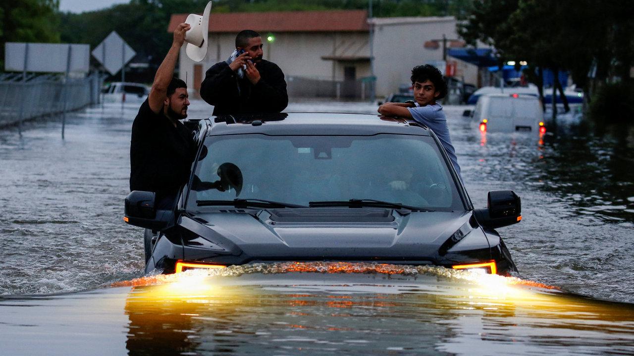 Hurikán Harvey.