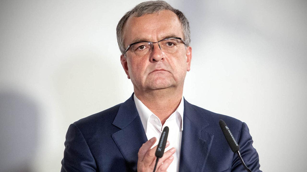 Bývalý předseda TOP 09 Miroslav Kalousek.