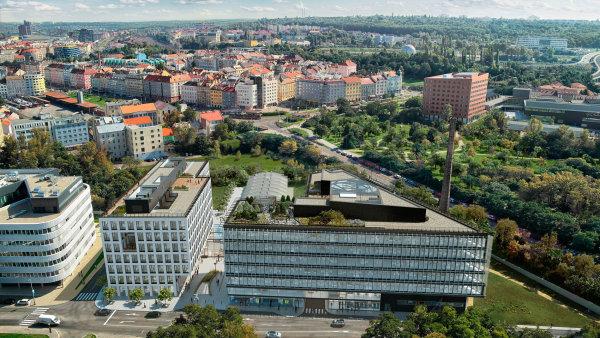 Nedaleko centra Palmovky vznikne také projekt Palmovka Open Park od společnosti Metrostav Development - Ilustrační foto.