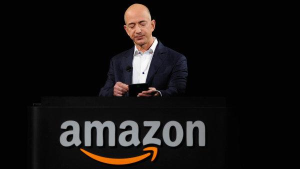 Zakladatel a spolumajitel firmy Amazon Jeff Bezos.