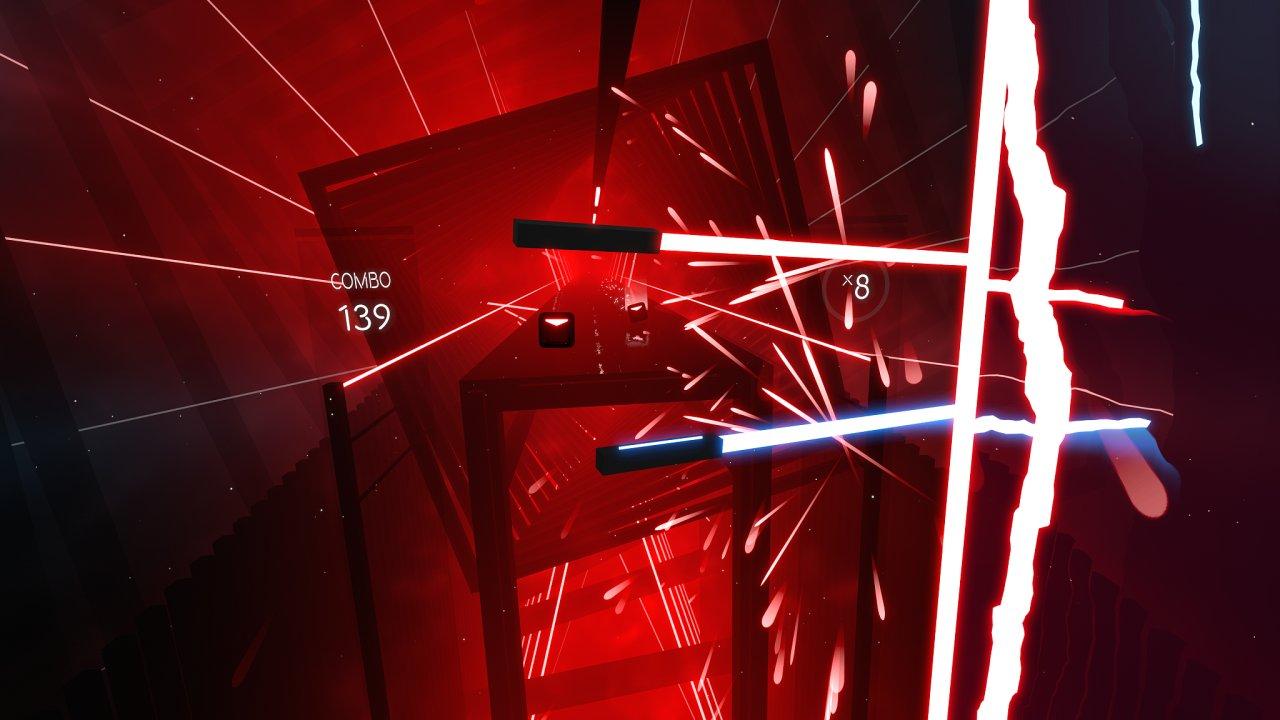 Beat Saber je povedená česká rytmická hra pro virtuální realitu