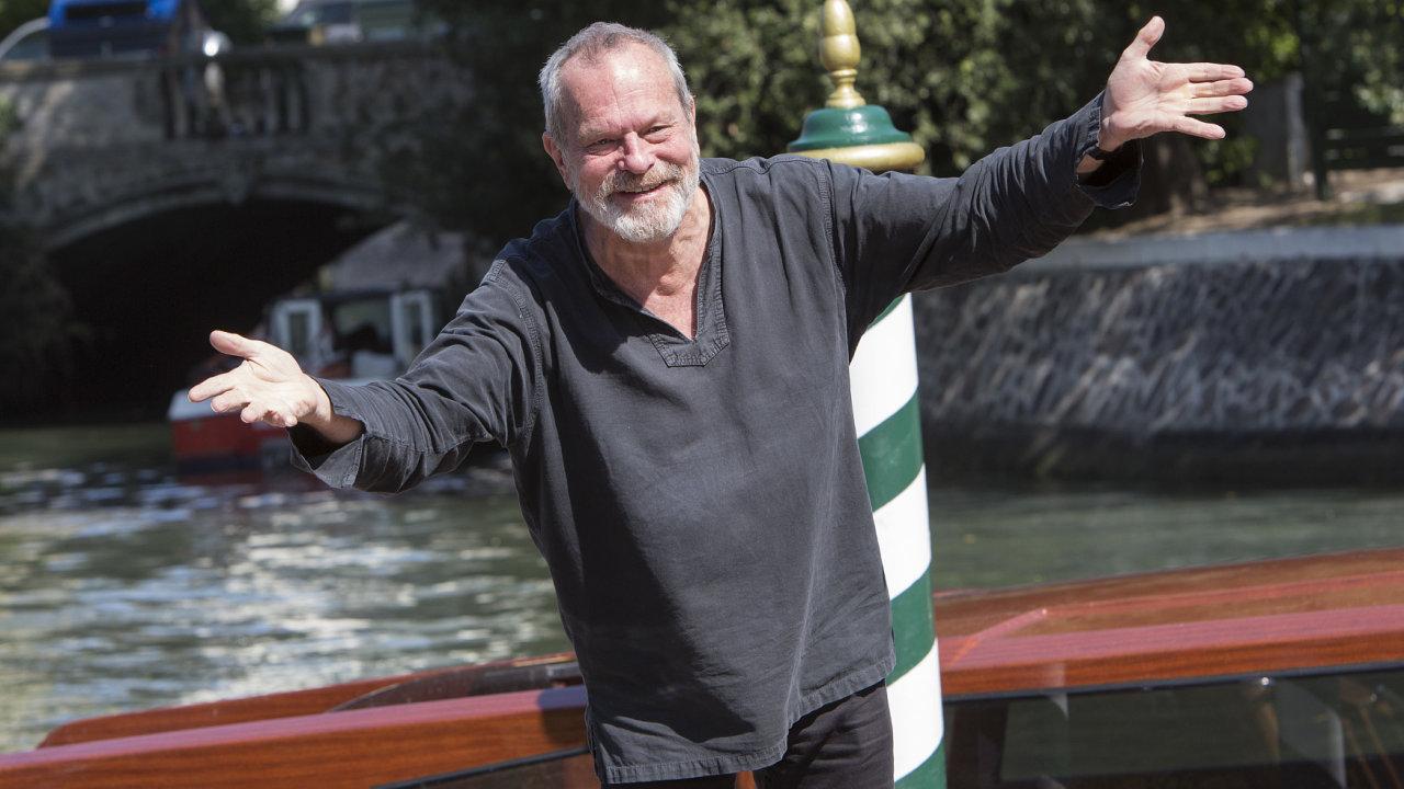 Terry Gilliam v Benátkách v roce 2015.