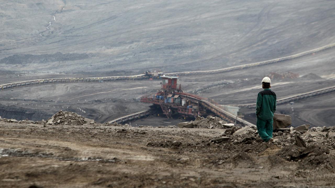 Mostecká uhelná - Ilustrační foto.