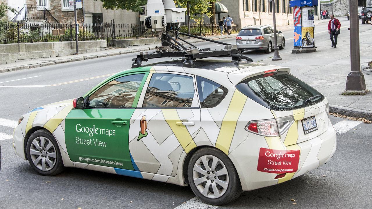 Google začne na jaře znovu fotit Česko pro Google Street View.
