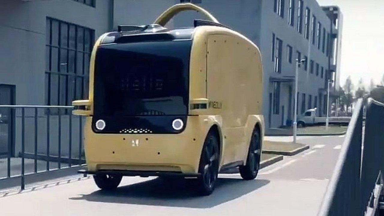 Čínská firma Neolix začala vyrábět bezpilotní dodávky.