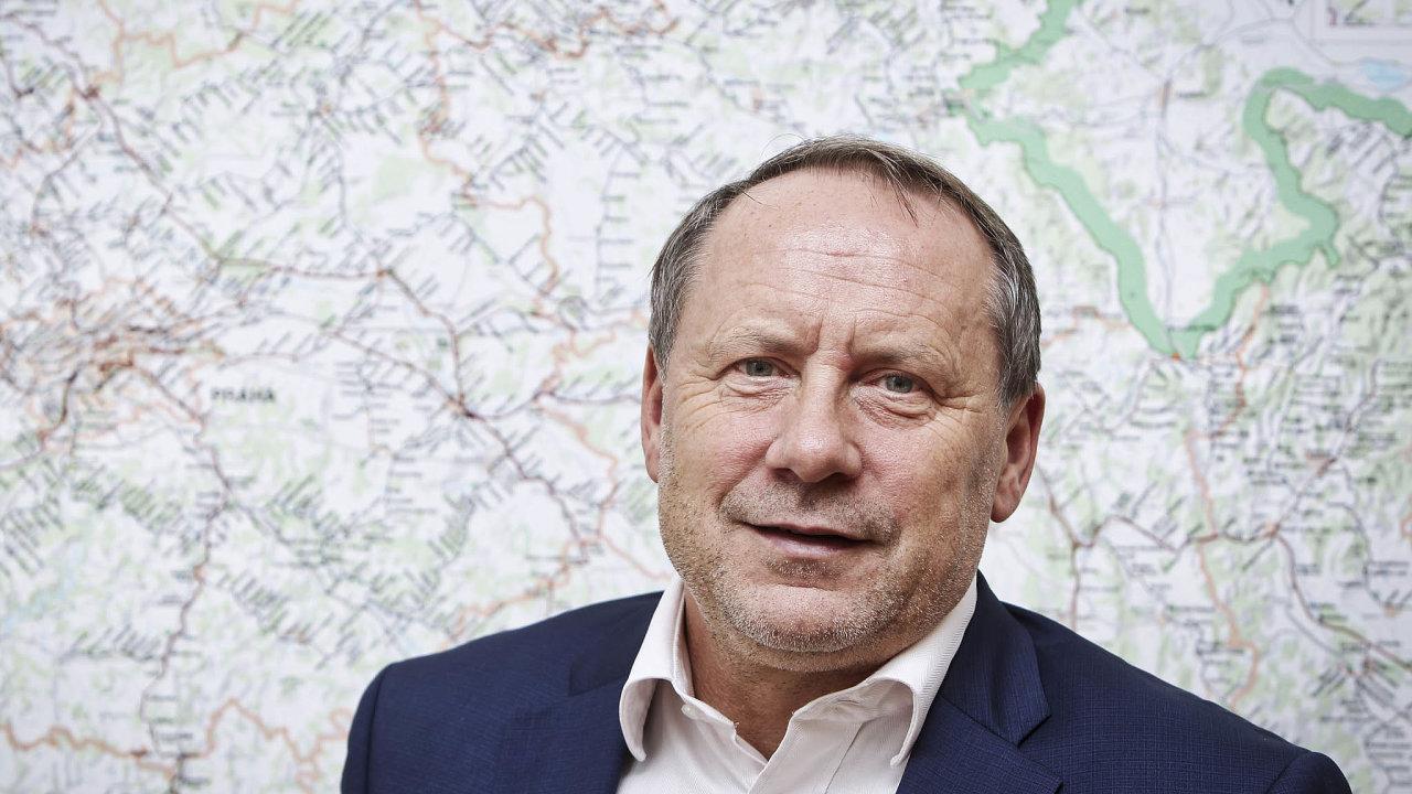 Bývalý šéf Českých drah Miroslav Kupec.