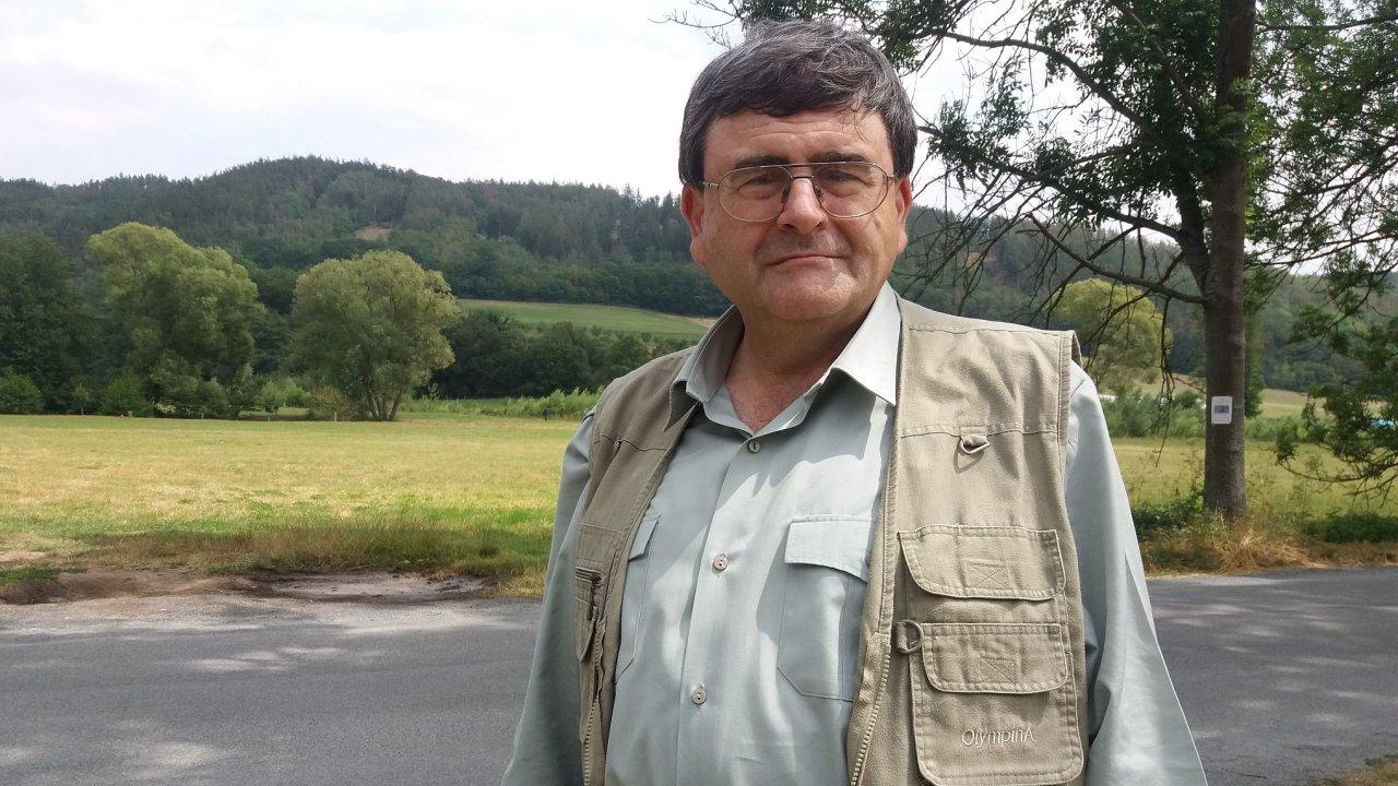 Tomáš Just ze středočeské Agentury pro ochranu přírody a krajiny ČR.