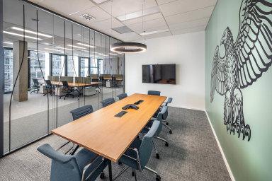 Minerálky vnovém: Nové kancelářské prostory si nechala navrhnout společnost Karlovarské minerální vody vpražské budově Palmovka Open Park.