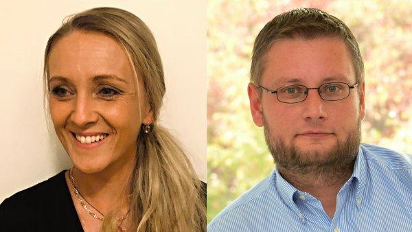 Kateřina Mikesková a Jiří Janeček, PR oddělení mobilního operátora T-Mobile CZ