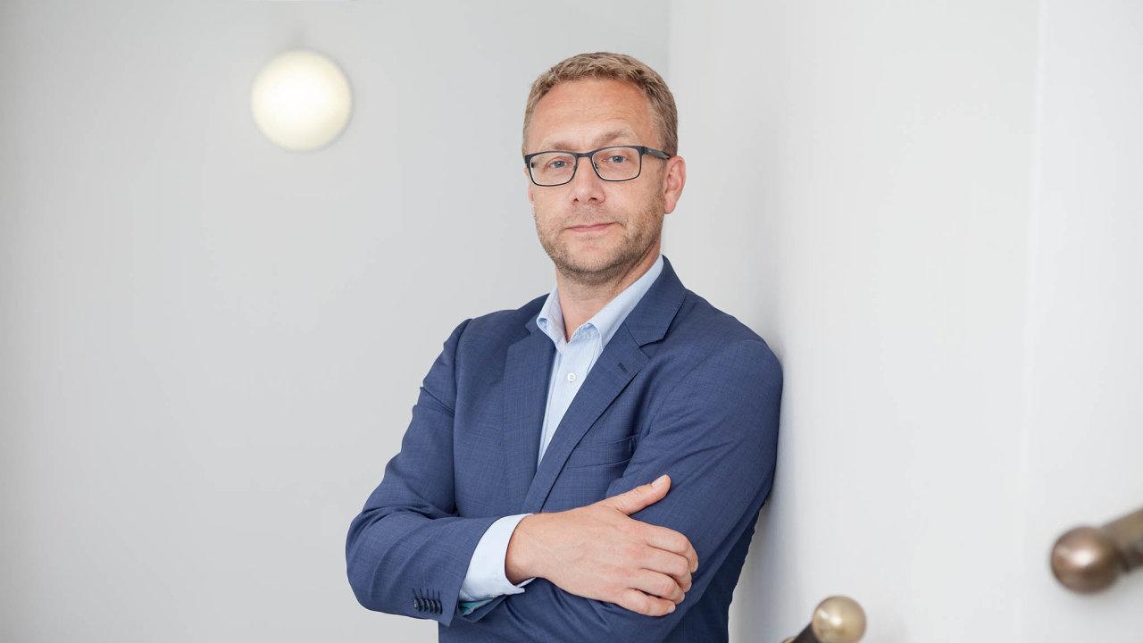 Tomáš Janeba, prezident Asociace pro rozvoj infrastruktury
