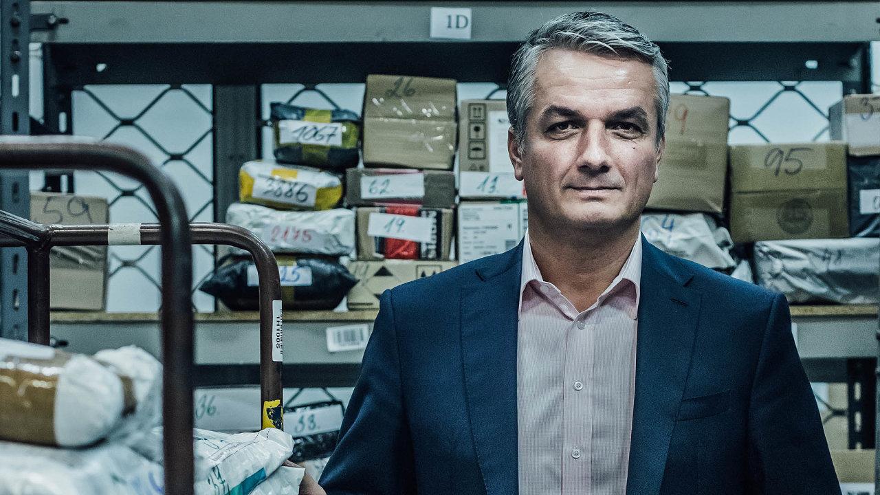 Odsoftwaru kpoště: Roman Knap přišel dovedení České pošty po čtyřech letech v čele české pobočky softwarové firmy SAP.