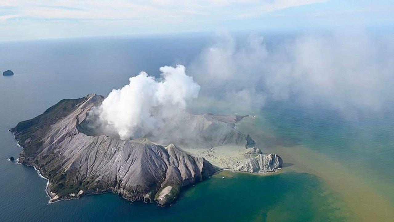 Turisté zachytili okamžiky krátce po výbuchu sopky.