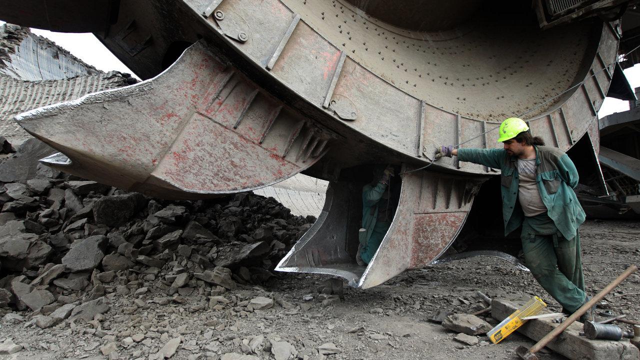 Mostecká uhelná