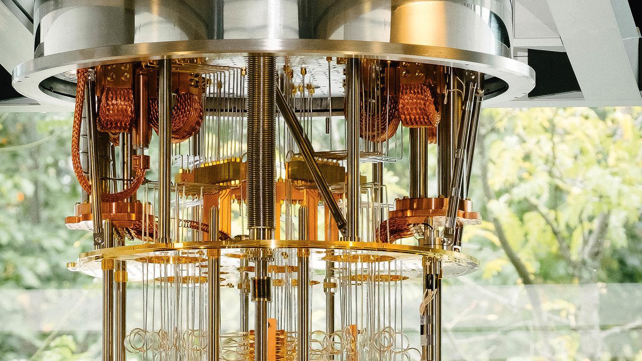 Společnost IBMsvůj koncept kvantového počítače prezentovala na loňském veletrhu CES v Las Vegas.
