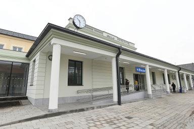 Nejčerstvější přestavba nádraží byla dokončena vBřeclavi minulý týden.