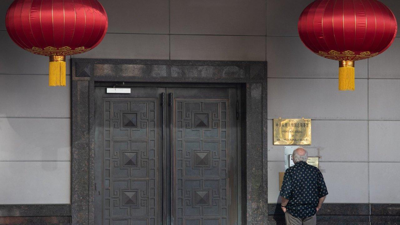 čínský konzulát v Texasu