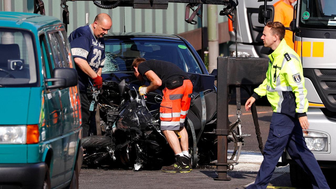 Nehody na městské dálnici v Berlíně byly podle dosavadních poznatků vyšetřovatelů islamisticky motivovaným útokem.