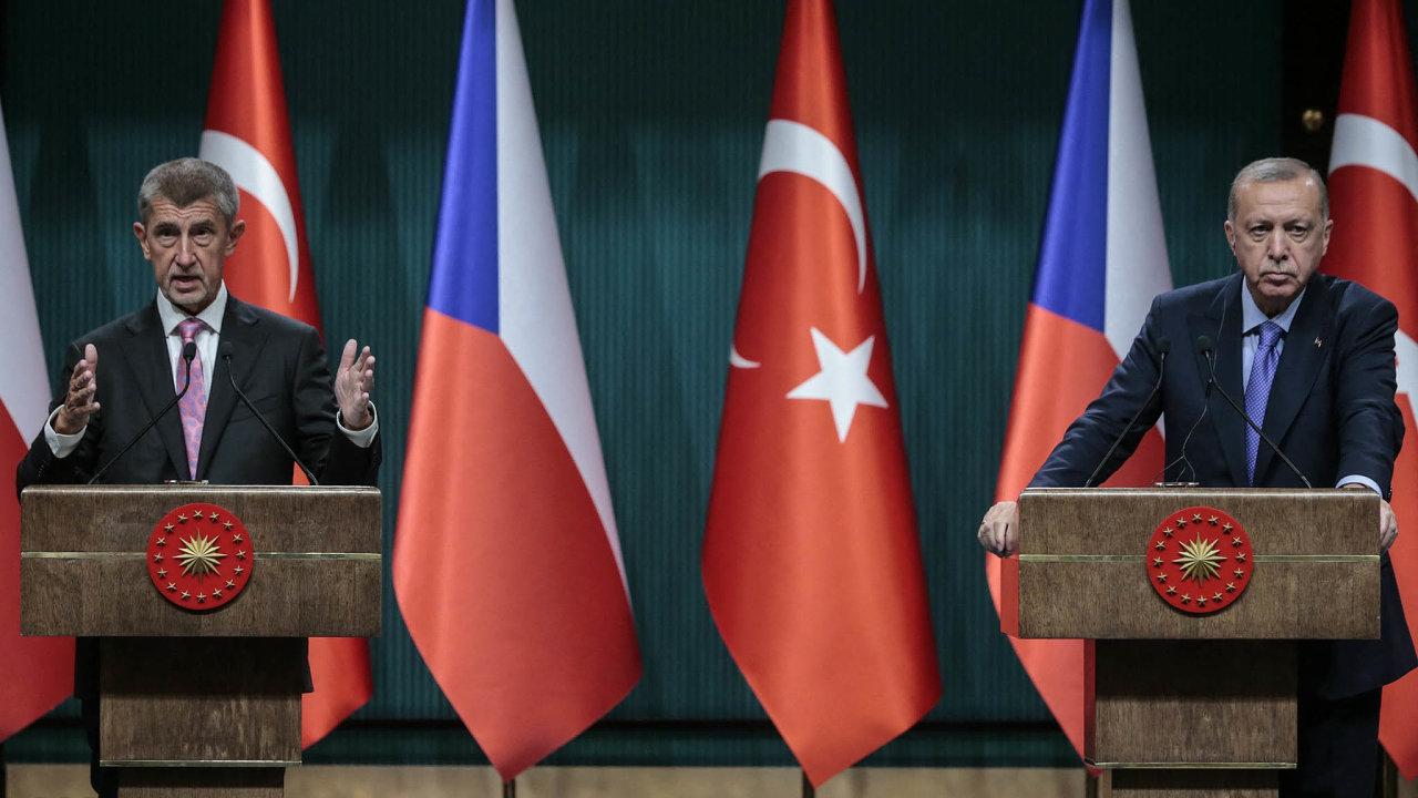 Ani Babiš nepomohl. Český premiér se pokusil vyjednat řešení stureckým prezidentem Erdoganem. Neúspěšně.