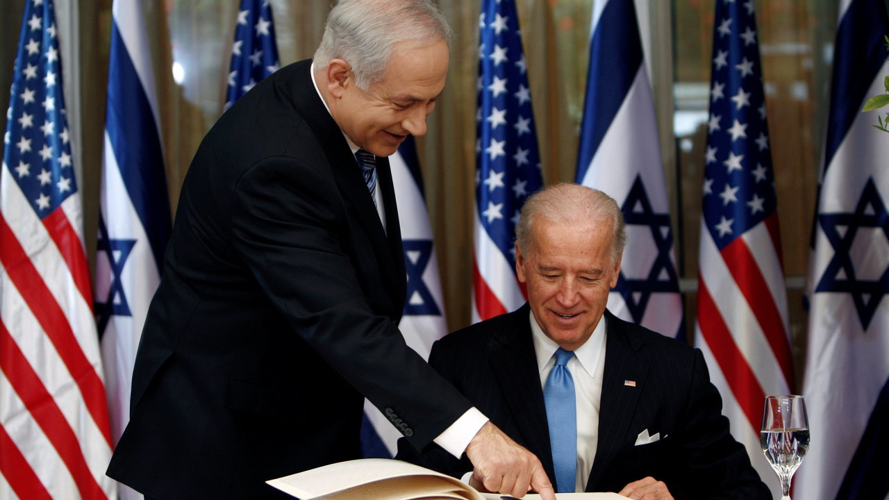 Koncem Donalda Trumpa přišel izraelský premiér Benjamin Netanjahu o svého velkého podporovatele, i Biden je ale velmi proizraelský. Více než většina jeho strany.