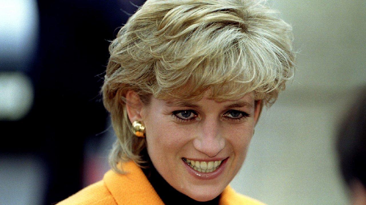 Princezna Diana v roce 1995.