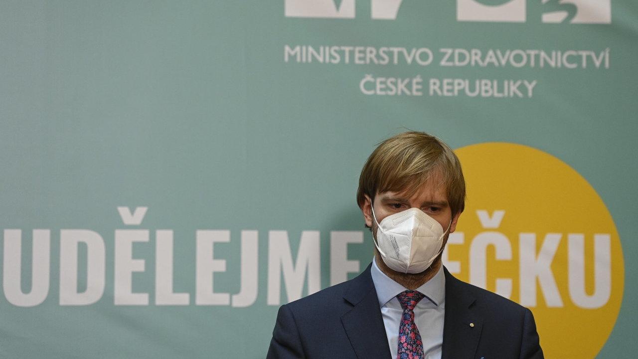 Adam Vojtěch, staronový ministr zdravotnictví.