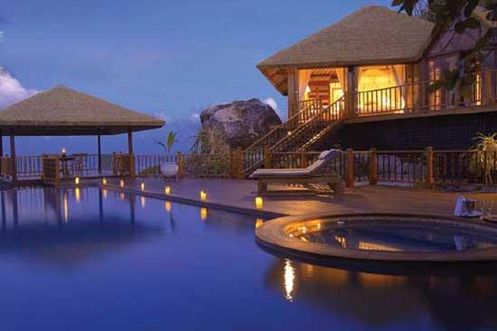 Fregate Island Private, stylová vila, Seychely