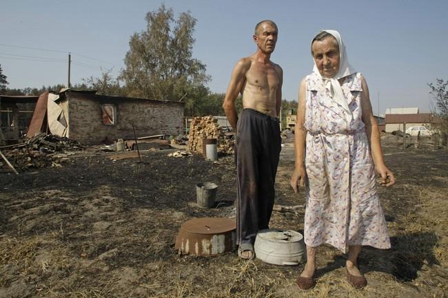 Obrazem požáry v rusku se vymykají kontrole hasiči a armáda to
