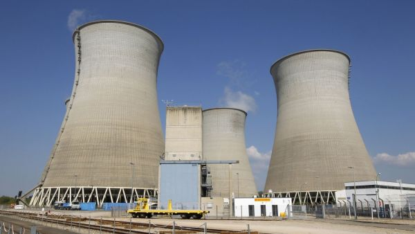 Jadern� elektr�rna, ilustra�n� foto
