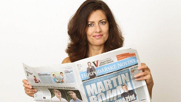Julie Hrstková, komentátorka HN.