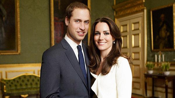 Kate Middleton a princ William, zasnoubení