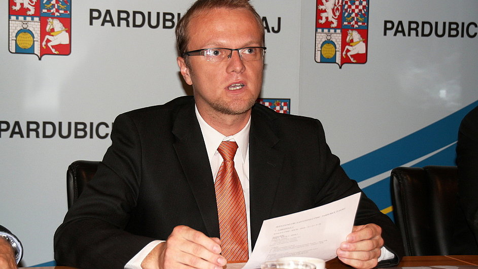 Lídr ČSSD a pardubický hejtman Martin Netolický.