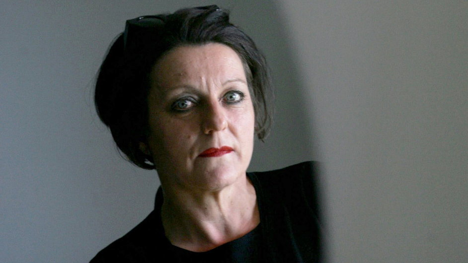 Herta Müllerová letos v dubnu předávala cenu Magnesie Litera.