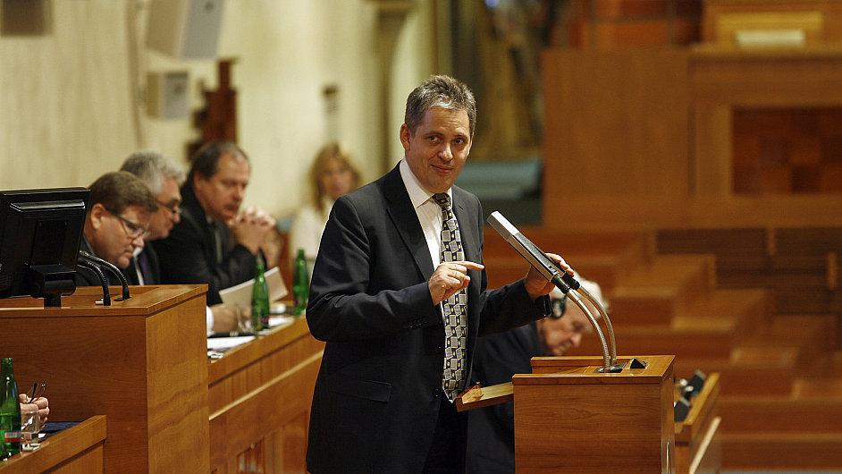Senátor za ČSSD Jiří Dienstbier