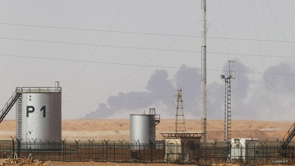 Plynárenský podnik v jihovýchodním Alžírsku