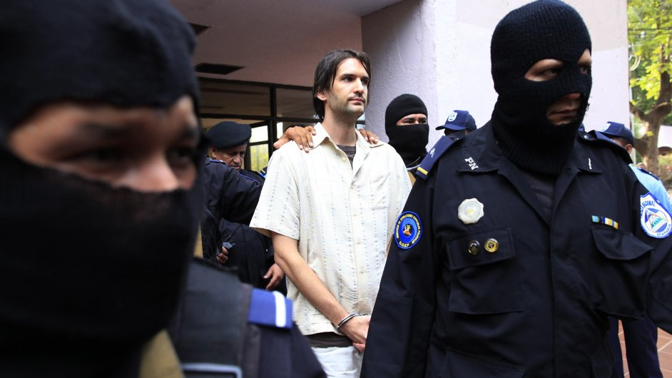 Eric Justin Toth zadržený v Nikaragui