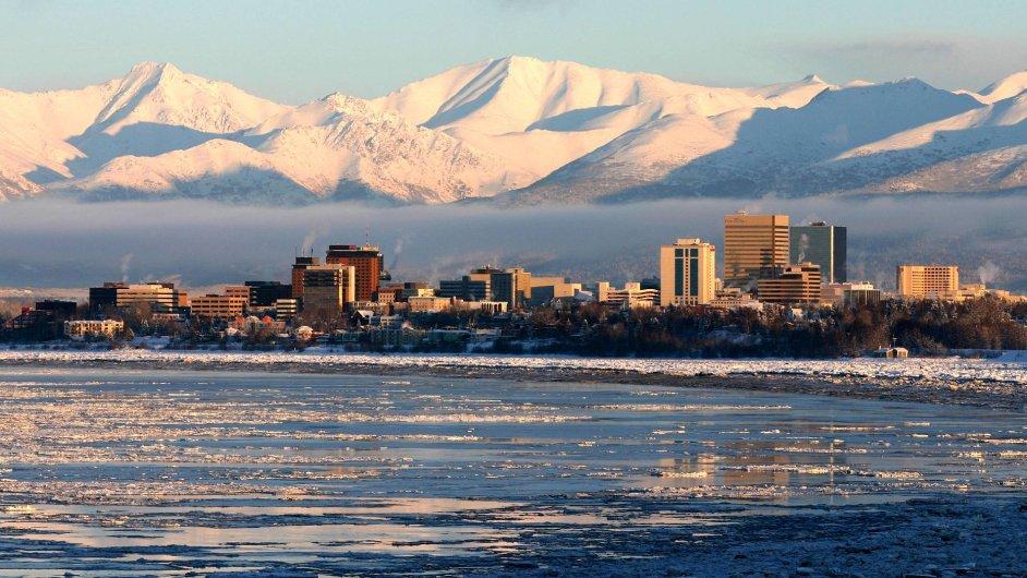 Anchorage, největší město Aljašky