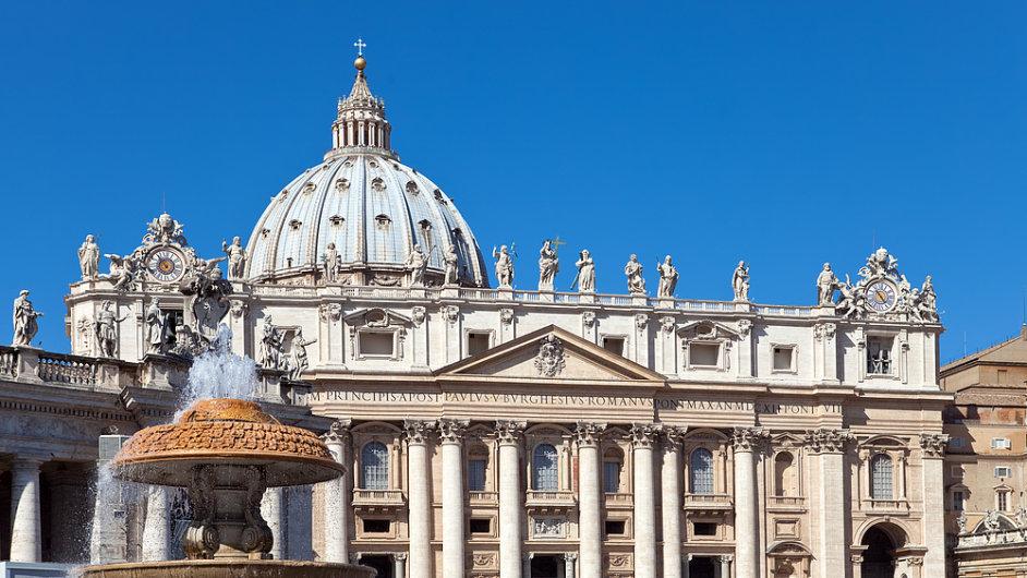 Bazilika svatého Petra ve Vatikánu, ilustrační foto