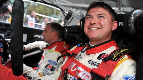 Martin Prokop za volantem na Rallye de France - Alsace