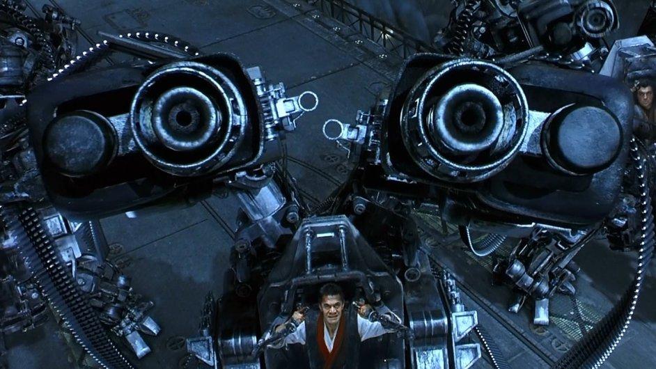 Exoskeletony v Matrix Revolutions rozhodně nebyly mírumilovné.