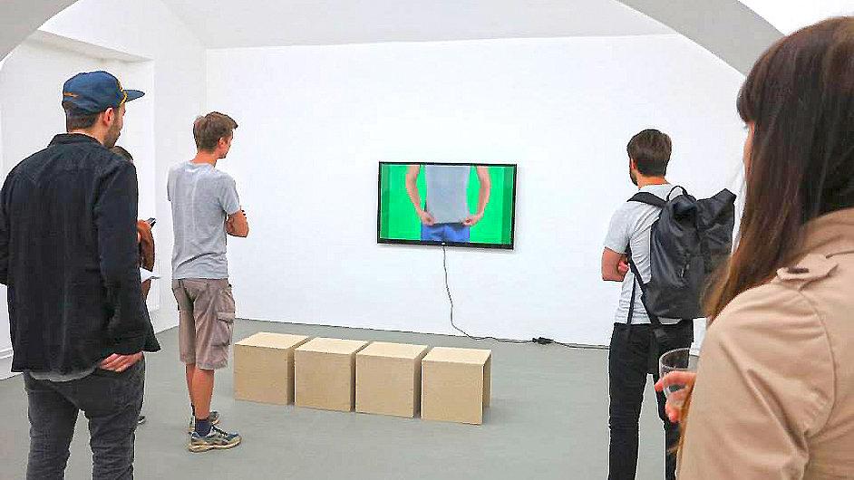 Díla na výstavu ve Futuře vybral americký kurátor Fionn Meade.